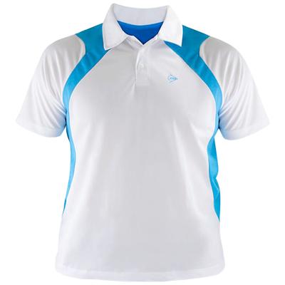 Camiseta polo Dunlop Branca