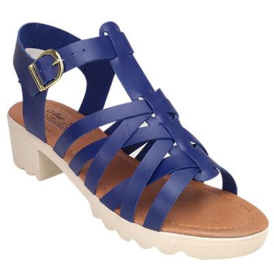 Sandália Tratorada 17200 Azul