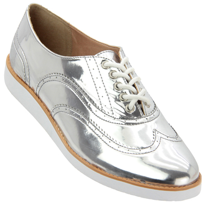 Sapato Feminino Firezzi Prata 179301
