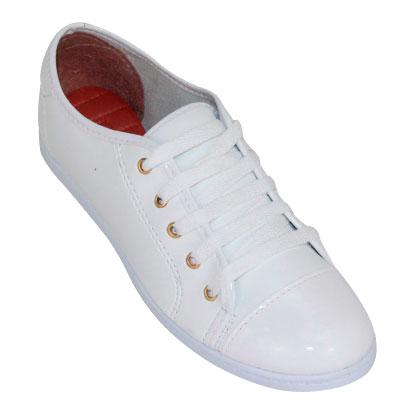 Sapato Feminino 4003 Branco VZ