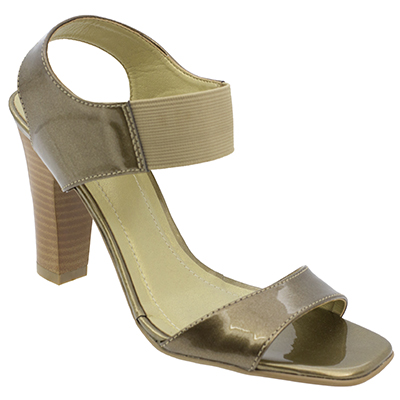 Sandália feminina Cal Passo 2102 Bronze