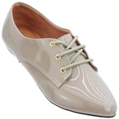 Sapato Oxford Bege