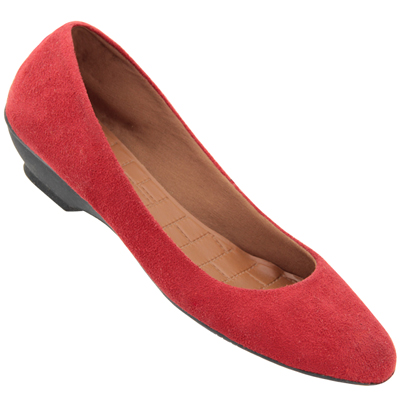 Sapatilha Feminina Atenas 2128 Vermelha