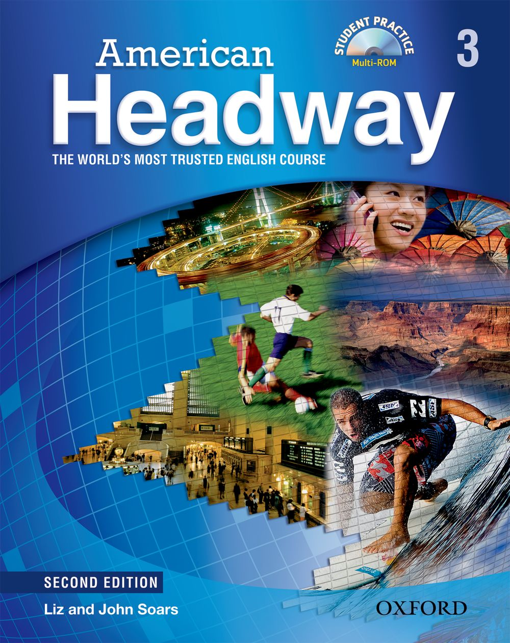 American Headway: Student Book with Student Practice MultiROM Level 3