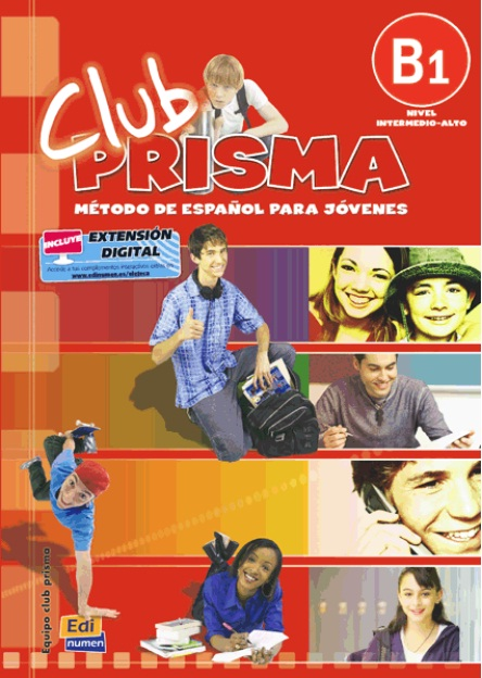 CLUB PRISMA B1 - LIBRO DEL ALUMNO + CD AUDIO