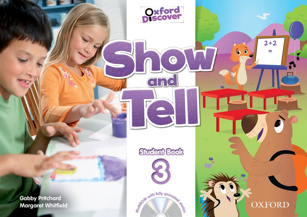 Show and Tell Level 3 Student Book and MultiROM Pack