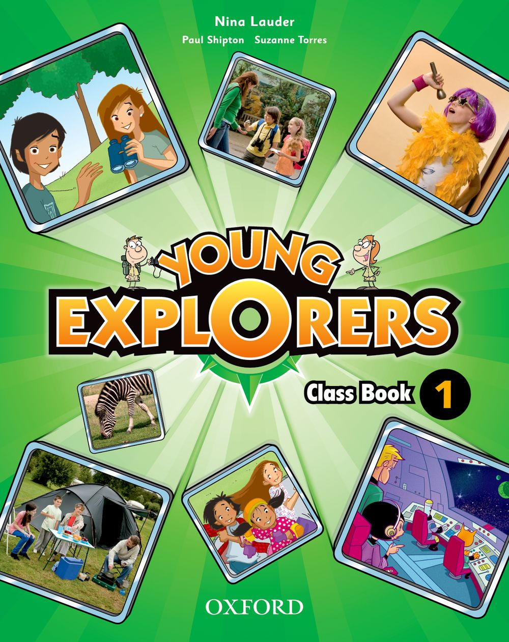 Young Explorers Level 1 Class Book