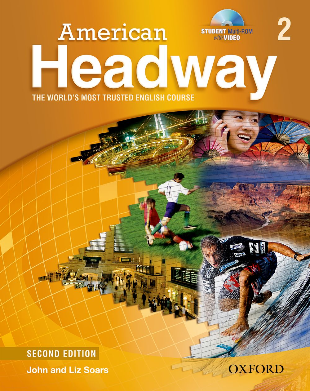 American Headway: Student Book with Student Practice MultiROM Level 2