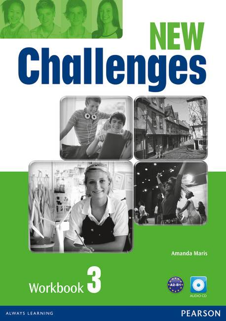 NEW CHALLENGES 3 WB W/ AUD CD 2E