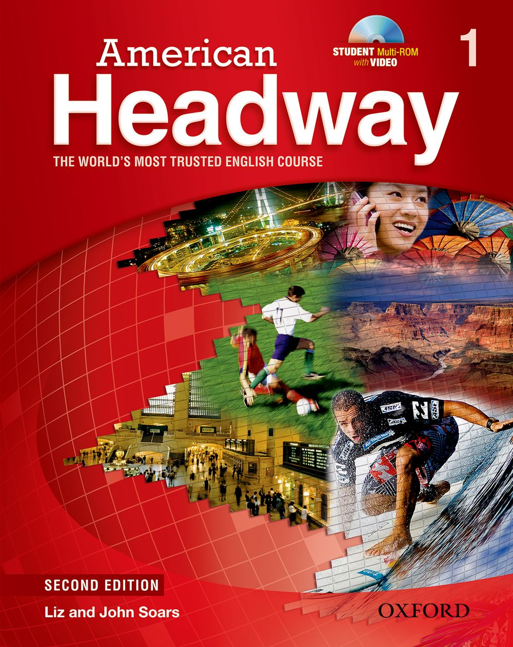 American Headway: Student Book with Student Practice MultiROM Level 1