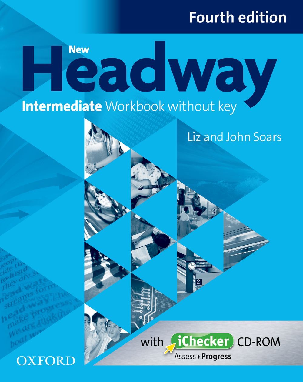 New Headway Intermediate B1 Workbook & iChecker without Key