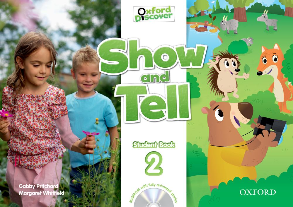 Show and Tell Level 2 Student Book and MultiROM Pack