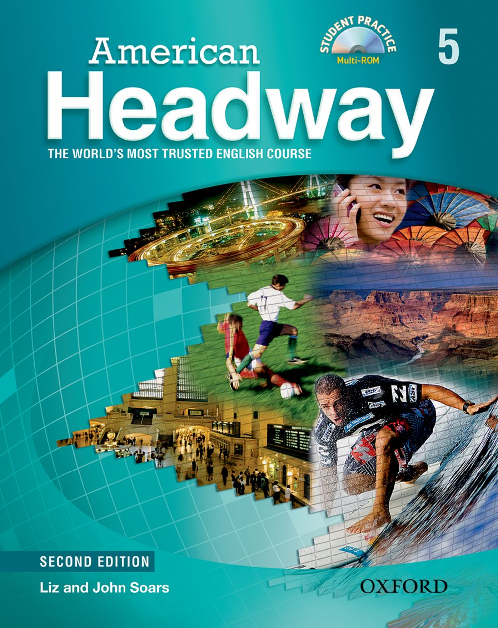 American Headway: Student Book with Student Practice MultiROM Level 5