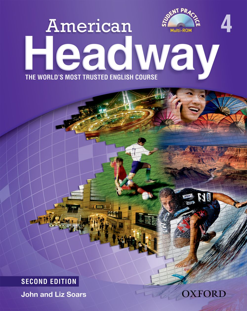 American Headway: Student Book with Student Practice MultiROM Level 4