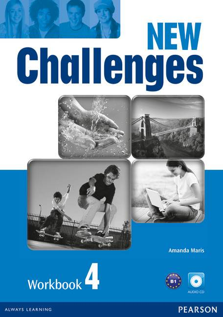 NEW CHALLENGES 4 WB W/ AUD CD 2E