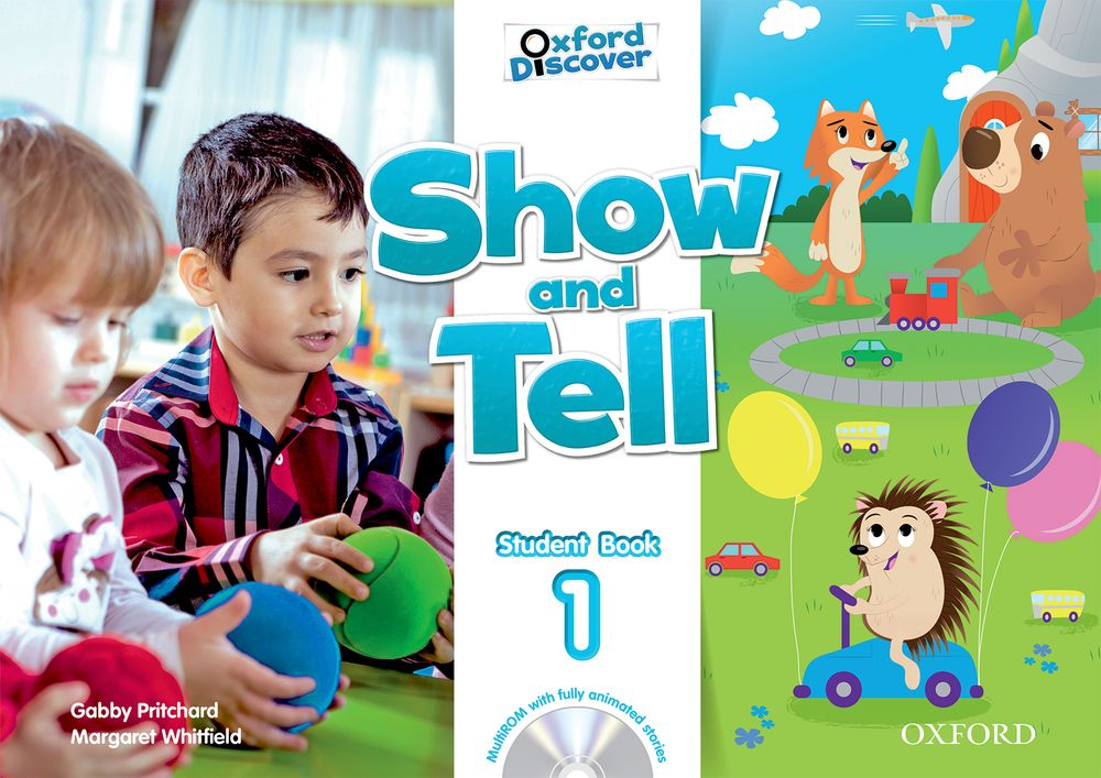 Show and Tell Level 1 Student Book and Multi-ROM Pack