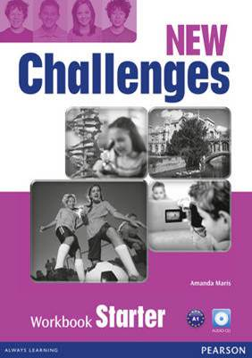 NEW CHALLENGES START WB W/ AUD CD