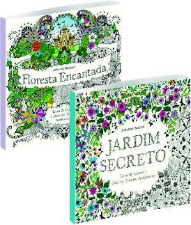 Jardim Secreto + Floresta Encantada