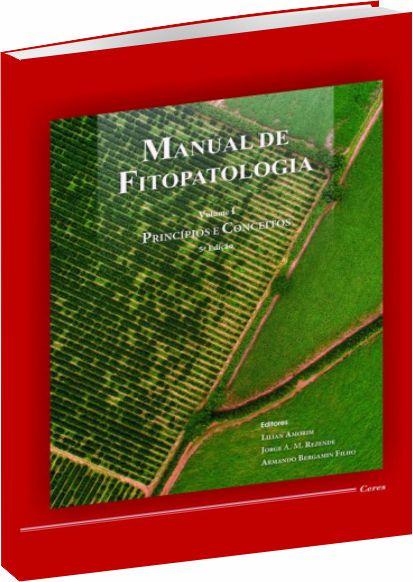 Manual de Fitopatologia Vol. 1  5ª Edição - 2018