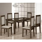 1009071 - Mesa Sala Rufato Bari 6 Cadeiras