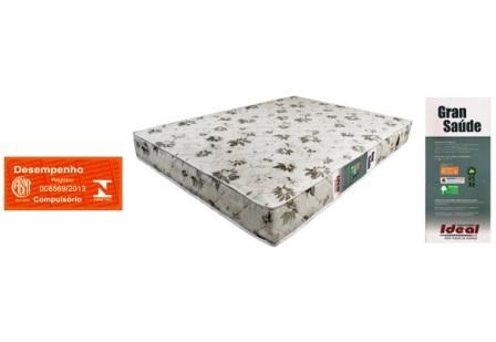 1010862 - Colch�o Ideal Gran Saude Ortop�dico Bordado 138X20