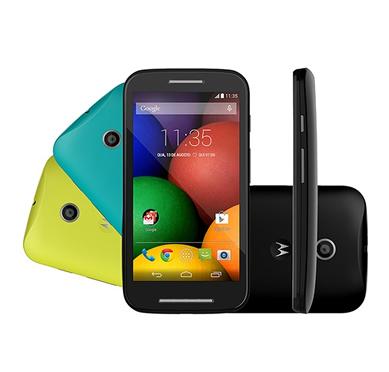 1019452 - Celular Smartphone Motorola Moto E DTV Colors XT1025 3G, C�mera 5MP