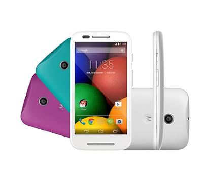 1019483 - Celular Smartphone Motorola Moto E DTV Colors XT1025, C�mera 5MP, 3G
