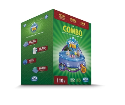 1037692 - Piscina Mor Combo Splash 4.600L 1065