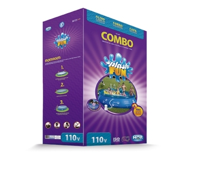 1037760 - Combo Piscina Mor Splash 7.800L 1067