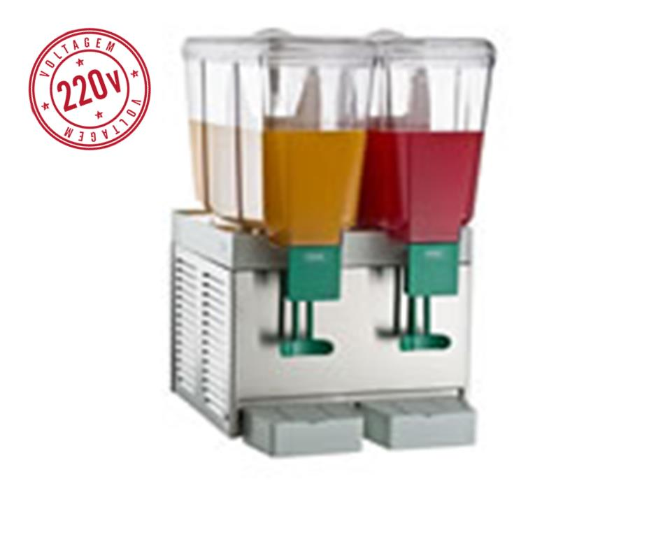 Refresqueira Refrigerada  IBBL BBB 2/15  IX 220V (1044294)