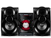 1054736 - Mini System Panasonic AKX38LB-K 500W BIV