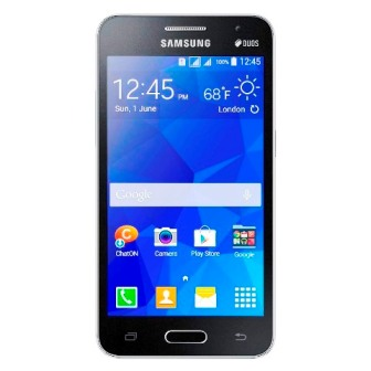 1057003 - Celular Samsung galaxy core 2 duos G355 Smart preto