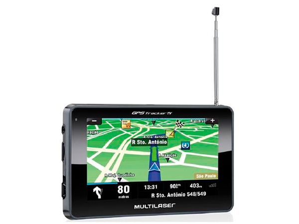 GPS Tracker 4,3 Multilaser GP034 TV FM