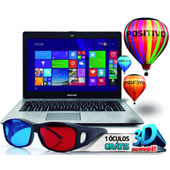 1075847 - Notebook Positivo Celeron Dual-Core  4GB W8 XR3210