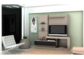 1101133 - Rack Home Theater Mira ZM01 Gloss