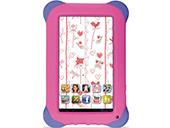 Tablet Multilaser Kids Pad, quad core,  rosa, 8GB - NB195