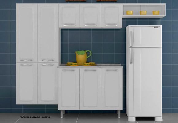 446259 - Cozinha Itatiaia Anita 3 Pe�as