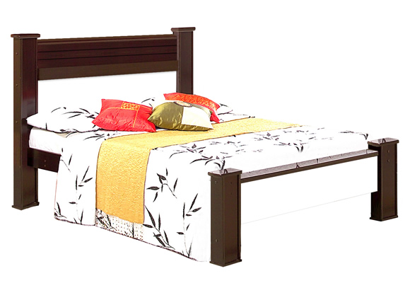 574730 - Cama Casal Ideal Tabaco/Maple - Bom Pastor