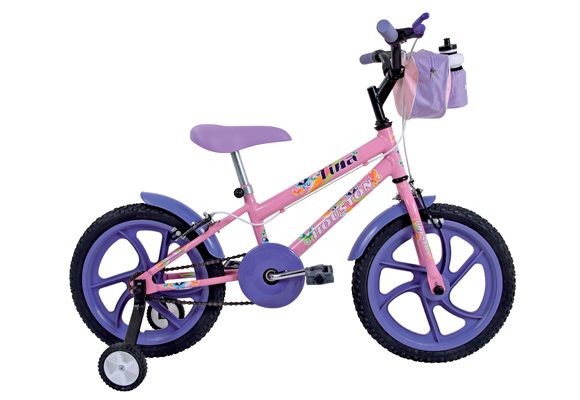 576154 - Bicicleta Houston Aro 16 Tina Feminino