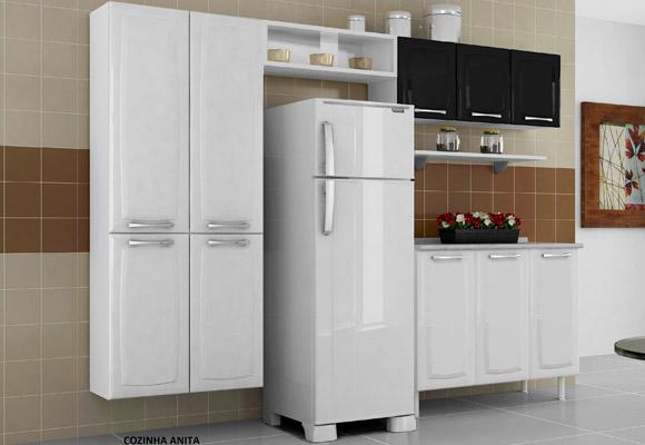 710558 - Cozinha Itatiaia Anita Smart 3 pe�as em A�o