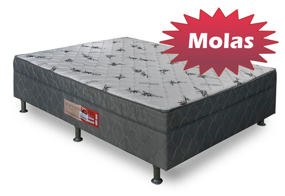 Colch�o Box Acoplado  Molal Black 138x54 -  Pelmex