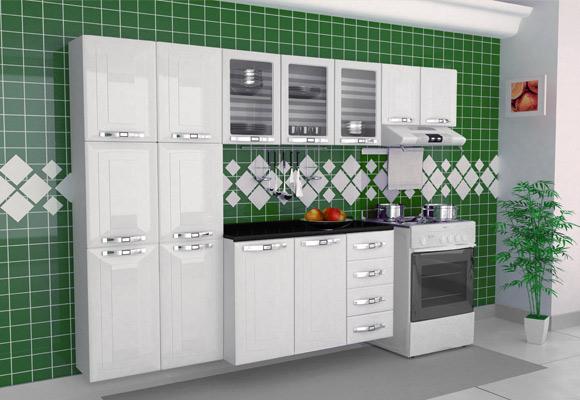 739269 - Cozinha Colormaq Class in Grande 3 Pe�as Branco