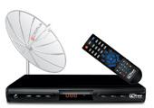 759410 - Kit TV Free Cromus com Parab�lica e Receptor Multiponto Bivolt