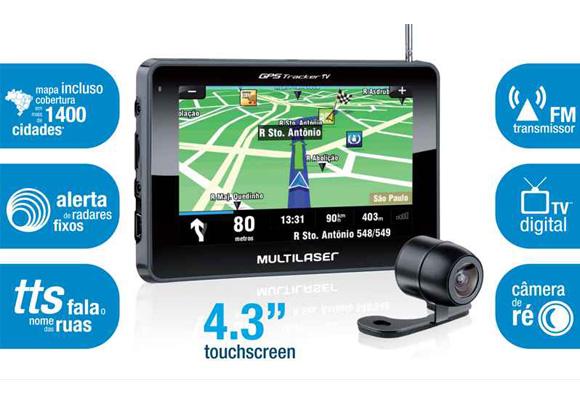 790475 - GPS Multilaser Track 4,3