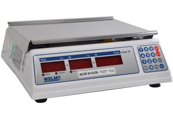 797375 - Balan�a Welmy BCW Triplice LED 30KG