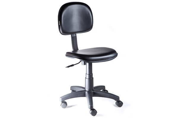 837521 - Cadeira Girat�ria Vinil Mobicon