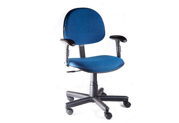 848893 - Cadeira executiva tecido Mobicon Azul