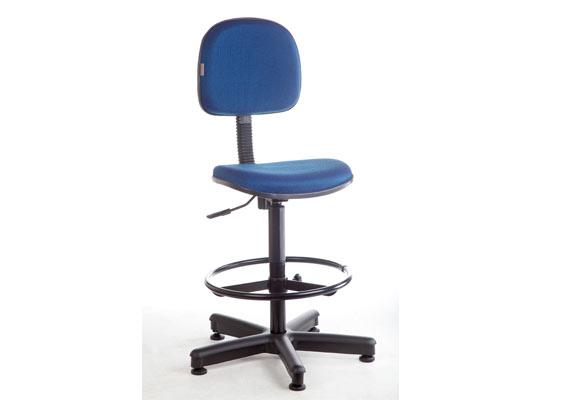 848954 - Cadeira Caixa Mobicom Tecido Azul