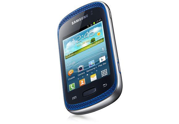 849203 - Smartphone Samsung Galaxy Music Duos S6012 Azul