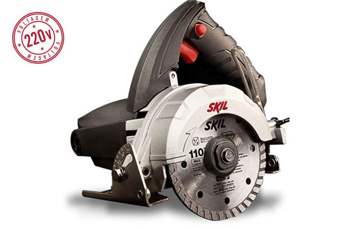 860314 - Serra M�rmore Skill Bosch F0129815AB 220V